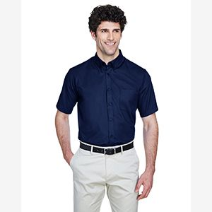 Men's Optimum Short-Sleeve Twill Shirt Thumbnail