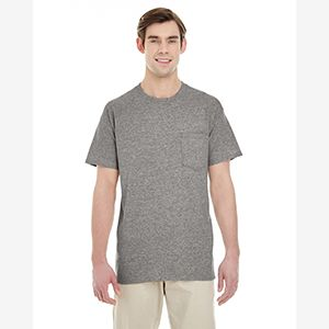 Adult  Heavy Cotton™ 5.3 oz. Pocket T-Shirt Thumbnail