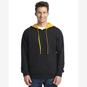 Adult French Terry Full-Zip Hooded Sweatshirt Thumbnail