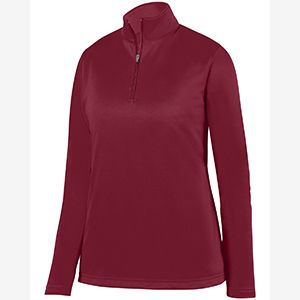 Ladies' Wicking Fleece Quarter-Zip Pullover Thumbnail