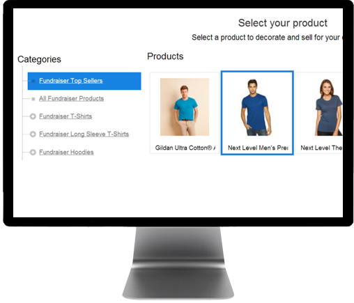 Select Shirt Style for Selling Wholesale T-shirt Campaigns