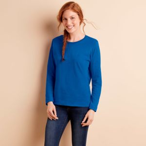 Gildan Heavy Cotton™ Ladies' Long-Sleeve T-Shirt Thumbnail
