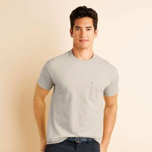 Gildan Ultra Cotton® Adult T-Shirt with Pocket Thumbnail