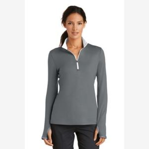 Golf Ladies Dri FIT Stretch 1/2 Zip Cover Up Thumbnail