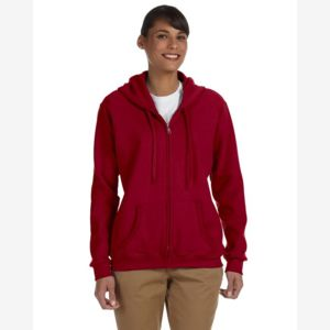 Heavy Blend™ Ladies' 8 oz., 50/50 Full-Zip Hood Thumbnail