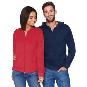 Next Level Unisex Sueded Full-Zip Hoody Thumbnail