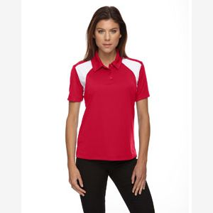 Eperformance™ Ladies' Colorblock Textured Polo Thumbnail