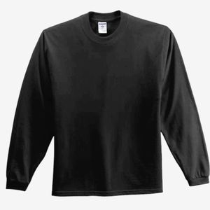 CONTRACT Adult Long Sleeve T-Shirt - you supply Thumbnail