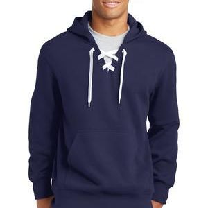 CONTRACT Lace Up Pullover Hooded Sweatshirt - you supply Thumbnail