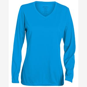 CONTRACT Ladies Wicking Polyester Long-Sleeve Jersey Thumbnail