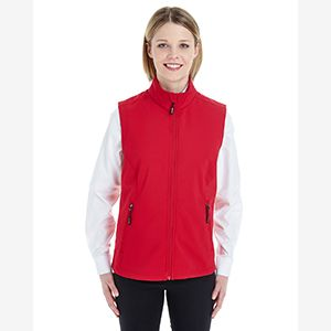 Ladies' Cruise Two-Layer Fleece Bonded Soft Shell Vest Thumbnail
