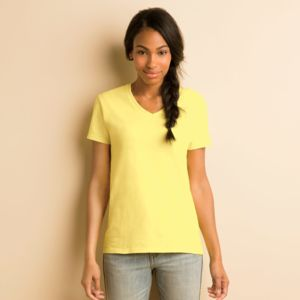 ® Heavy Cotton™ Ladies' V-Neck T-Shirt Thumbnail